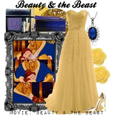 """""""Beauty & the Beast"""" by amarie104 on Polyvore"""