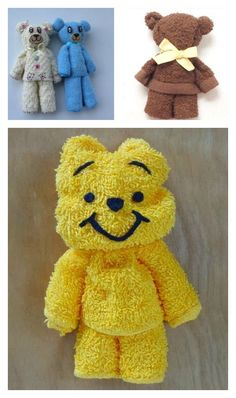 Towel Teddy Bear Tutorial You Probably Have Never Heard Of