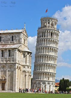 Leaning Tower of Pisa, Toscana, Italy -  Cong Nguyen photography 2013.