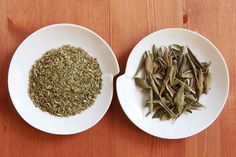 OLIVE LEAF TEA from NOTIO / fine powder Vs whole leaves