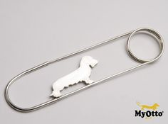 Dachshund Brooch in Sterling Silver. The Dachshund is customizable http://www.myotto.it/sito/?page_id=546&lang=it#!/SpillOttO-Bassotto-in-argento-Dachshund-Silver-Brooch/p/39034104/category=2885447