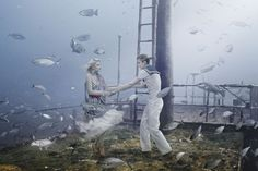 Andreas Franke shows us underwater art with The Sinking World | Creative Boom Blog | Art, Design, Creativity