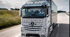Mercedes-Benz apresenta caminhão autônomo | VeloxTV