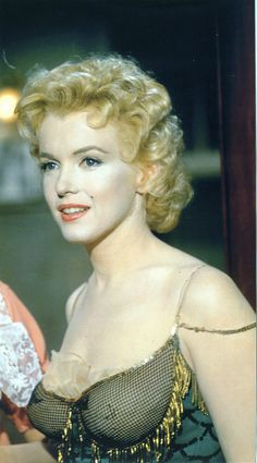 Marilyn Monroe- She should have been nominated for an Oscar for her role in this movie