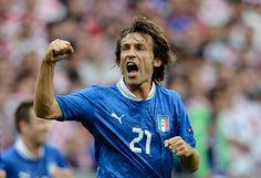 An Ace. #Andrea Pirlo #Italy #UEFA #EURO 2012