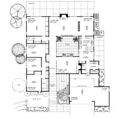 Atriumhus for House plans 2000 to 3000 square feet