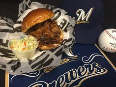 A St. Louis BBQ Pork Sandwich is the special when the Cardinals come to town! #Brewers http://atmlb.com/1JaIKL8