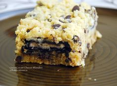 Oreo Cream Cheese Blondies