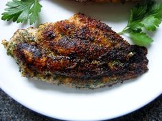 Pie Birds, Buttons and Muddy Puddles: Blackened Catfish - Eating Clean
