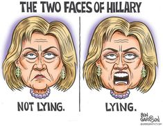 The Two Faces Of Hillary | Zero Hedge