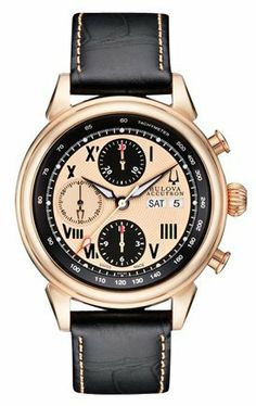 Bulova Accutron 64C100 Gemini mens Automatic ETA 7750 Swiss watch Accutron. $649.00