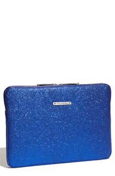 Juicy Couture 'Ed to the Stars' Laptop Sleeve (13 Inch) in Lazuli Blue $44.90 (sale)