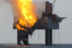 07/25/2013 - A Gulf of Mexico drilling rig partially collapsed off the coast of Louisiana after catching fire because of a ruptured natural gas well, U.S. regulators said on Wednesday.The blaze broke out after a blowout on the Hercules 265 natural gas platform at around 10:45 p.m. local time Monday.