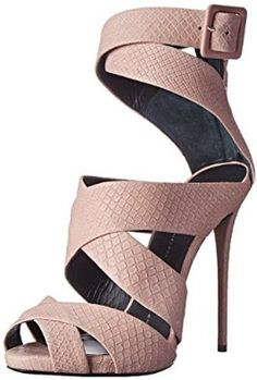 Giuseppe Zanotti E50160 Sandal in Printed Yard Cipria