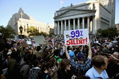 Labor Movement And An Organized College Walkout Add Support To Occupy Wall Street Protest