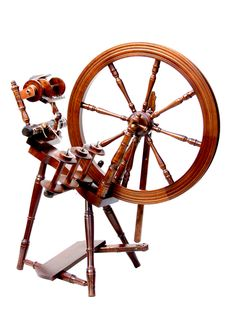 The Interlude Spinning Wheel - Walnut £340.00