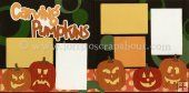 Carving Pumpkins Scrapbook Page Kit