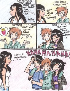 No one but true Percy Jackson fans would laugh like they should xD