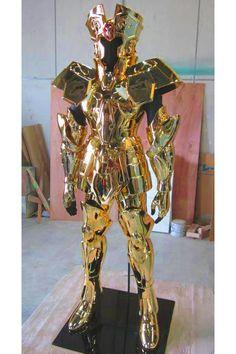 Galería: Así se construye una armadura dorada de Los Caballeros del Zodíaco