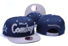 DALLAS COWBOYS MITCHELL NESS SNAPBACK HATS - BLUE 309 62fc29ae37a