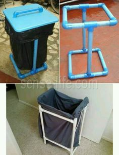 Diy projects pvc pipes - How to Reuse and Recycle Plastic Pipes, DIY Green Design Projects – Diy projects pvc pipes Diy Projects Pvc Pipes, Pvc Pipe Crafts, Diy House Projects, Design Projects, Diy Pipe, Welding Projects, Pvc Pipe Storage, Diy Storage Rack, Diy Design