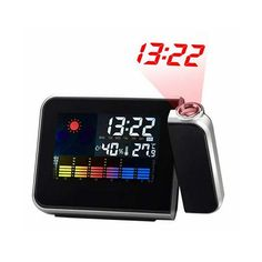 #Weekly Deals  #Fathers day Gifts - Baskets Shopping Coupons at Planet Goldilocks  http://www.planetgoldilocks.com/gifts.htm  Digital Time Projector LED Weather Temperature Humidity Forecast Clock @ USD 11.5 Shipped