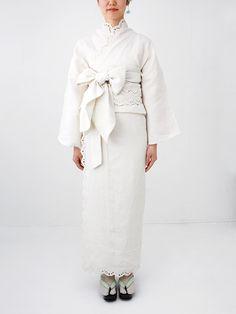 スノーフレーク 着物 | DOUBLE MAISON