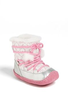 Stride Rite 'Crawl - Snowdrop' Boot (Baby Girls) available at #Nordstrom