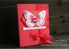 Hello Sunshine Butterfly by drekow - Cards and Paper Crafts at Splitcoaststampers