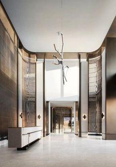 Hotel Reception, Reception Design, Luxury Interior, Modern Interior, Interior Design, Lobbies, Hotel Lobby, Commercial Interiors, Interior Inspiration