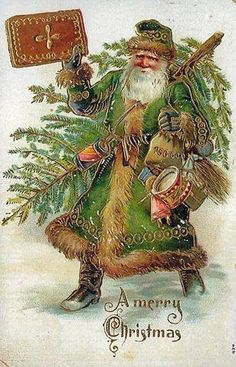 "Dutch SinterKlaas ""The English Father Christmas"""