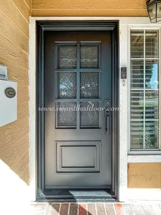 🛡️🛡️🛡️ When it comes to keeping your home secure, nothing beats iron doors. These high-quality iron doors will ensure that nobody can get in without permission! -- ☎️☎️☎️ Call 877-205-9418 for Orders and Inquiries 🆓🆓🆓 Take advantage of FREE CONSULTATION and FREE DESIGN ⚠️⚠️⚠️ About this Beautiful IRON DOOR: Essex Iron Door w/ Kick Plate. -- #irondoor #iwantthatdoor #wroughtirondoor #universalirondoors #ironfrontdoor #irondoorsnearme #irondoorcompany #cheapirondoor