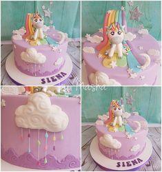 Unicorn cake Unicorn Cakes, Fondant, Party, Desserts, Cakes, Fondant Icing, Postres, Deserts, Parties