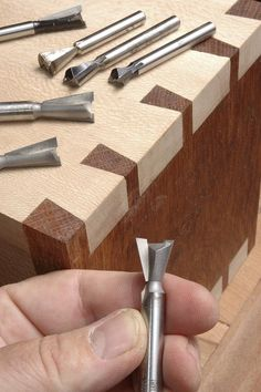 Wood Router Bits for Dovetail Joints