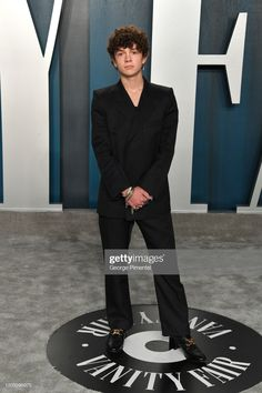 Noah Jupe attends the 2020 Vanity Fair Oscar party hosted by Radhika Jones at Wallis Annenberg Center for the Performing Arts on February 2020 in Beverly Hills, California. Future Boyfriend, To My Future Husband, Love S, Love Of My Life, Beverly Hills, Cute Celebrities, Celebs, Noah, Chibi Girl