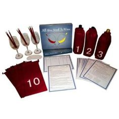 Designed for people of all wine knowledge levels, this blind wine tasting party game allows players to learn and practice the 5 S's of Wine Tasting: Sight, Swirl, Smell, Sip, and Savor. Players blind taste each wine and use the Tasting Tip Sheets to record their tasting notes on custom designed Tasting Note Sheets. Players then guess each wine's grape varietal and tally the results. What better way to host a fun party while expanding your wine knowledge?! Ideal for parties of any size…
