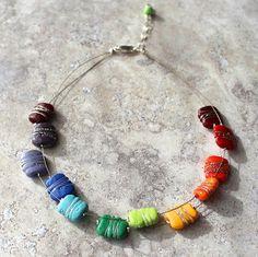 Colour Wheel Necklac