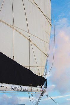 A sunset cruise in the USVI
