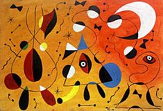 Oil Painting on Paper, Hand Signed, Size Approximate 48 x 33 cm Oil Painting On Paper, Artist Painting, Joan Miro Paintings, Abstract Expressionism, Abstract Art, Picasso Cubism, Arte Tribal, Spanish Painters, Canvas Art