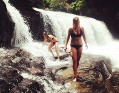 A guide to some of the best swimming holes in Western North Carolina, only with a twist: they're 5 swimmable waterfalls!