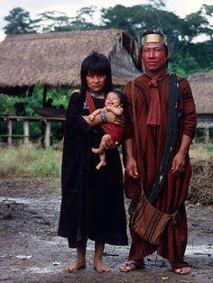 Ashaninka family, Amazon
