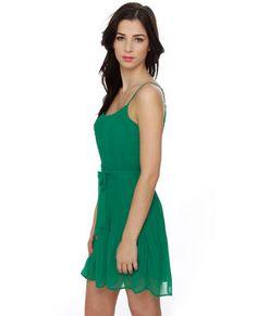 Crimped Cocktail Teal Dress #lovelulus