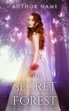 'The Secret Forest' Premade Cover. For more information visit here: http://www.everpagedesigns.com/p/premades.html