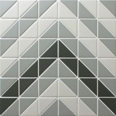 """Chino Hill Chevron 2"""" Triangle Geometric Tiles mosaic, suitable for wall and floor designs"""