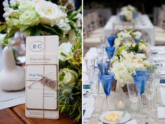 @Victoria Clausen Florals | Annapolis Wedding | Natural Wedding http://baysidebride.com/2014/04/taupe-blue-annapolis-wedding-renee-michelle/