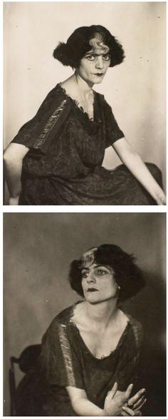 Luisa Casati, 1928 by Man Ray