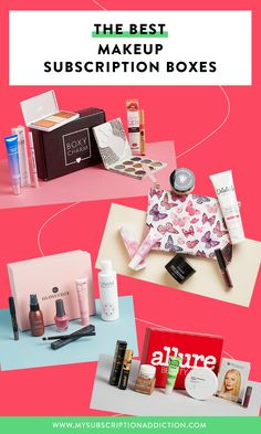 The Best Subscription Boxes for Makeup