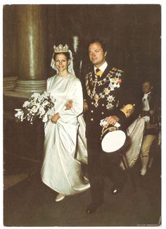 King Carl XVI Gustaf and Queen Silvia The Royal Wedding