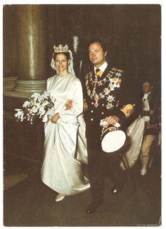 King Carl XVI Gustaf and Queen Silvia The Royal Wedding