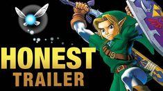 Zelda: Ocarina of Time! [Honest Game Trailers] #honesttrailer #zelda #ocarinaoftime